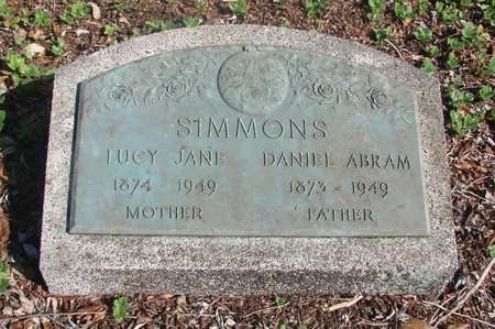 SIMMONS, LUCY JANE - Tillamook County, Oregon | LUCY JANE SIMMONS - Oregon Gravestone Photos