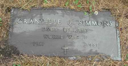 SIMMONS, GRANVILLE J - Tillamook County, Oregon | GRANVILLE J SIMMONS - Oregon Gravestone Photos