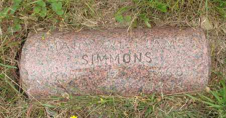 SIMMONS, MARY - Tillamook County, Oregon | MARY SIMMONS - Oregon Gravestone Photos