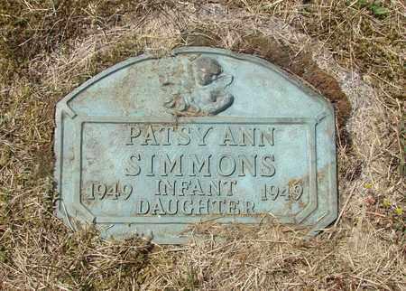 SIMMONS, PATSY ANN - Tillamook County, Oregon | PATSY ANN SIMMONS - Oregon Gravestone Photos