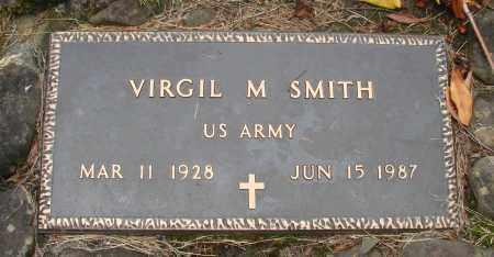 SMITH (SERV), VIRGIL M - Tillamook County, Oregon | VIRGIL M SMITH (SERV) - Oregon Gravestone Photos