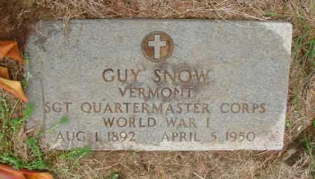 SNOW (WWI), GUY - Tillamook County, Oregon | GUY SNOW (WWI) - Oregon Gravestone Photos