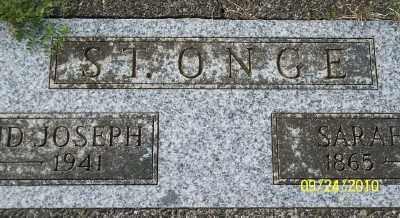 ST ONGE, EDMUND JOSEPH - Tillamook County, Oregon | EDMUND JOSEPH ST ONGE - Oregon Gravestone Photos