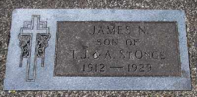 ST ONGE, JAMES N - Tillamook County, Oregon | JAMES N ST ONGE - Oregon Gravestone Photos