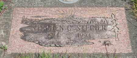 STEINER, STEPHEN G - Tillamook County, Oregon | STEPHEN G STEINER - Oregon Gravestone Photos