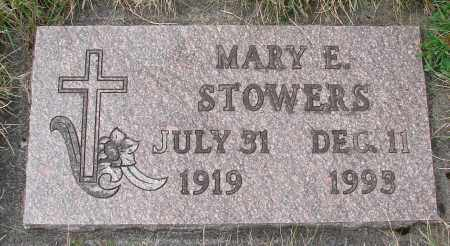 STOWERS, MARY E - Tillamook County, Oregon | MARY E STOWERS - Oregon Gravestone Photos