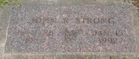 STRONG, JOHN R - Tillamook County, Oregon | JOHN R STRONG - Oregon Gravestone Photos