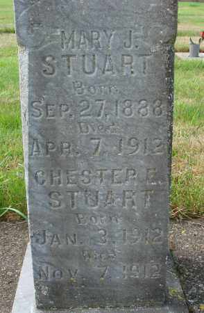 STUART, MARY J - Tillamook County, Oregon | MARY J STUART - Oregon Gravestone Photos