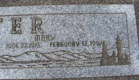 SUTER, MARY - Tillamook County, Oregon | MARY SUTER - Oregon Gravestone Photos