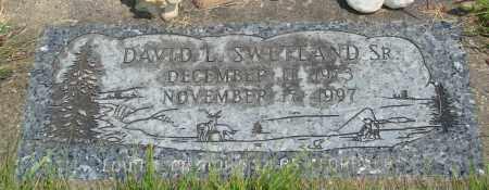 SWETLAND, DAVID L SR - Tillamook County, Oregon   DAVID L SR SWETLAND - Oregon Gravestone Photos