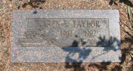 TAYLOR, KAREN FRANCES - Tillamook County, Oregon | KAREN FRANCES TAYLOR - Oregon Gravestone Photos
