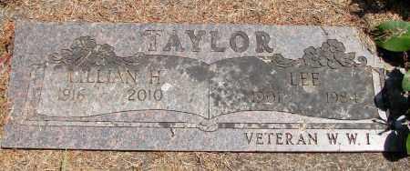 TAYLOR, LEE - Tillamook County, Oregon | LEE TAYLOR - Oregon Gravestone Photos