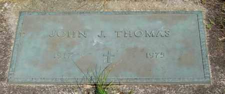 THOMAS, JOHN J - Tillamook County, Oregon | JOHN J THOMAS - Oregon Gravestone Photos
