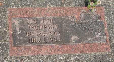 THOMPSON, TODD LEON - Tillamook County, Oregon   TODD LEON THOMPSON - Oregon Gravestone Photos