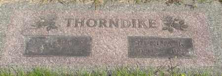 THORNDIKE, REGINA K - Tillamook County, Oregon | REGINA K THORNDIKE - Oregon Gravestone Photos