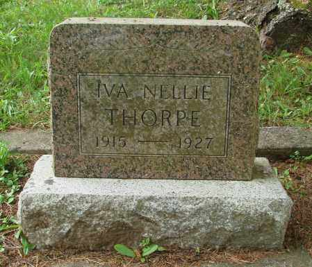 THORPE, IVA NELLIE - Tillamook County, Oregon | IVA NELLIE THORPE - Oregon Gravestone Photos