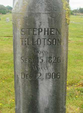 TILLOTSON, STEPHEN - Tillamook County, Oregon | STEPHEN TILLOTSON - Oregon Gravestone Photos