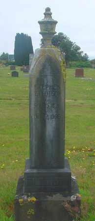 TILLOTSON, STEPHEN - Tillamook County, Oregon   STEPHEN TILLOTSON - Oregon Gravestone Photos