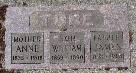 TONE, ANNE - Tillamook County, Oregon | ANNE TONE - Oregon Gravestone Photos