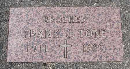 TONE, FRANK J - Tillamook County, Oregon | FRANK J TONE - Oregon Gravestone Photos