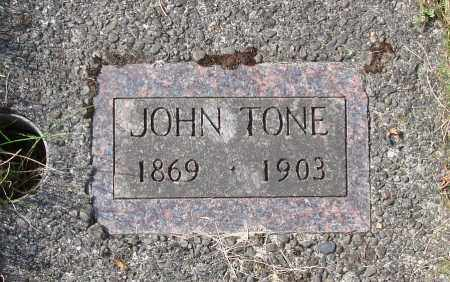 TONE, JOHN - Tillamook County, Oregon | JOHN TONE - Oregon Gravestone Photos