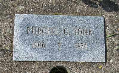 TONE, PURCELL G - Tillamook County, Oregon | PURCELL G TONE - Oregon Gravestone Photos