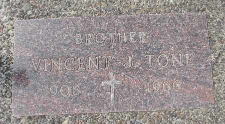 TONE, VINCENT J - Tillamook County, Oregon | VINCENT J TONE - Oregon Gravestone Photos