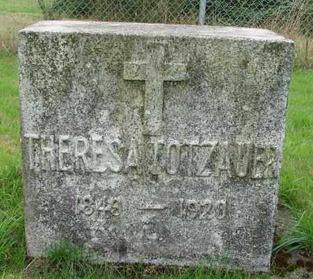 TOTZAUER, THERESA - Tillamook County, Oregon | THERESA TOTZAUER - Oregon Gravestone Photos