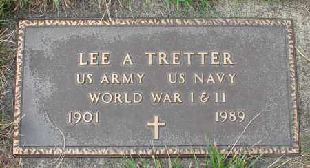 TRETTER (WWI), LEE A - Tillamook County, Oregon | LEE A TRETTER (WWI) - Oregon Gravestone Photos