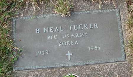 TUCKER, B NEAL - Tillamook County, Oregon | B NEAL TUCKER - Oregon Gravestone Photos