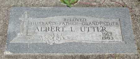 UTTER, ALBERT LEROY - Tillamook County, Oregon | ALBERT LEROY UTTER - Oregon Gravestone Photos