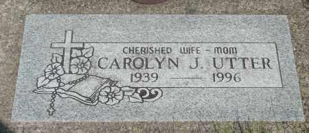 UTTER, CAROLYN JUNE - Tillamook County, Oregon | CAROLYN JUNE UTTER - Oregon Gravestone Photos