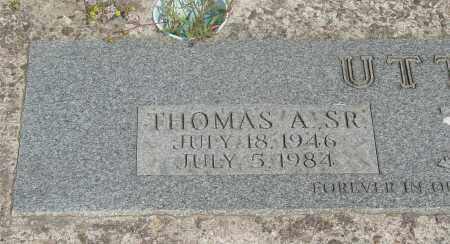 UTTER, THOMAS ALBERT SR - Tillamook County, Oregon   THOMAS ALBERT SR UTTER - Oregon Gravestone Photos