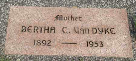 VAN DYKE, BERTHA C - Tillamook County, Oregon | BERTHA C VAN DYKE - Oregon Gravestone Photos