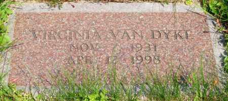 VAN DYKE, VIRGINIA - Tillamook County, Oregon | VIRGINIA VAN DYKE - Oregon Gravestone Photos