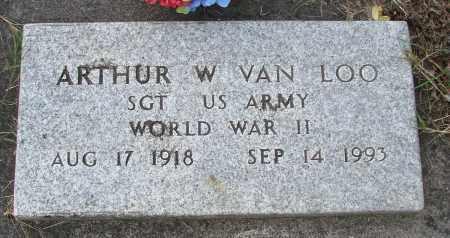 VAN LOO, ARTHUR WILLIAM SR - Tillamook County, Oregon | ARTHUR WILLIAM SR VAN LOO - Oregon Gravestone Photos