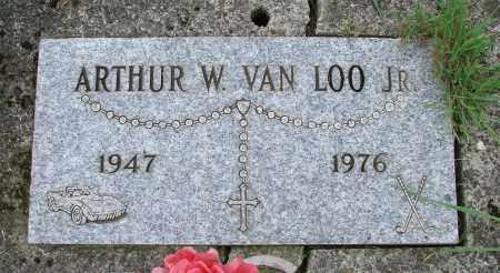 VAN LOO, ARTHUR WILLIAM JR - Tillamook County, Oregon | ARTHUR WILLIAM JR VAN LOO - Oregon Gravestone Photos