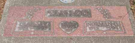 VAN LOO, NORMAN GEORGE - Tillamook County, Oregon | NORMAN GEORGE VAN LOO - Oregon Gravestone Photos