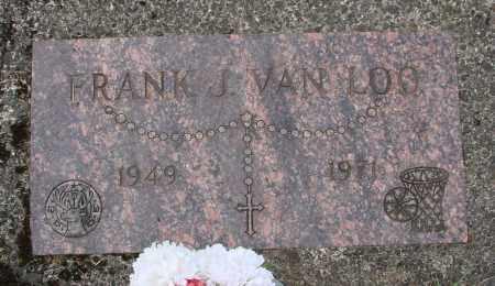 VAN LOO, FRANK JOSEPH - Tillamook County, Oregon   FRANK JOSEPH VAN LOO - Oregon Gravestone Photos