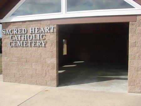 VIEW, SACRED HEART CEMETERY - Tillamook County, Oregon   SACRED HEART CEMETERY VIEW - Oregon Gravestone Photos