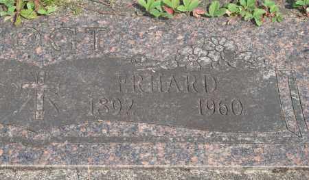 VOGT, ERHARD - Tillamook County, Oregon   ERHARD VOGT - Oregon Gravestone Photos