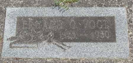 VOGT, ERHARD O - Tillamook County, Oregon   ERHARD O VOGT - Oregon Gravestone Photos