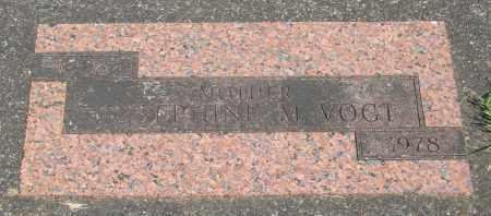 VOGT, JOSEPHINE M - Tillamook County, Oregon | JOSEPHINE M VOGT - Oregon Gravestone Photos
