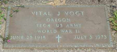 VOGT, VITAL J - Tillamook County, Oregon | VITAL J VOGT - Oregon Gravestone Photos