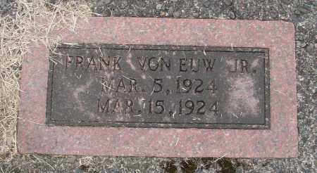 VON EUW, FRANK JR - Tillamook County, Oregon | FRANK JR VON EUW - Oregon Gravestone Photos