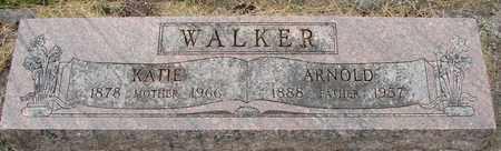 WALKER, KATHERINE B - Tillamook County, Oregon | KATHERINE B WALKER - Oregon Gravestone Photos