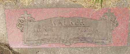 WALKER, NORMA ALICE - Tillamook County, Oregon | NORMA ALICE WALKER - Oregon Gravestone Photos