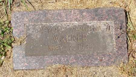 WALKER, JOYOUS VIRGINIA - Tillamook County, Oregon | JOYOUS VIRGINIA WALKER - Oregon Gravestone Photos