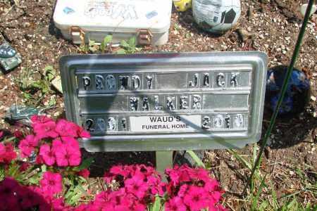 WALKER, PROWDY JACK - Tillamook County, Oregon | PROWDY JACK WALKER - Oregon Gravestone Photos