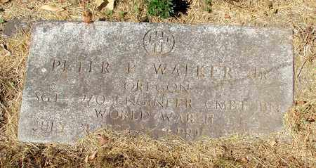 WALKER, PETER P JR - Tillamook County, Oregon | PETER P JR WALKER - Oregon Gravestone Photos